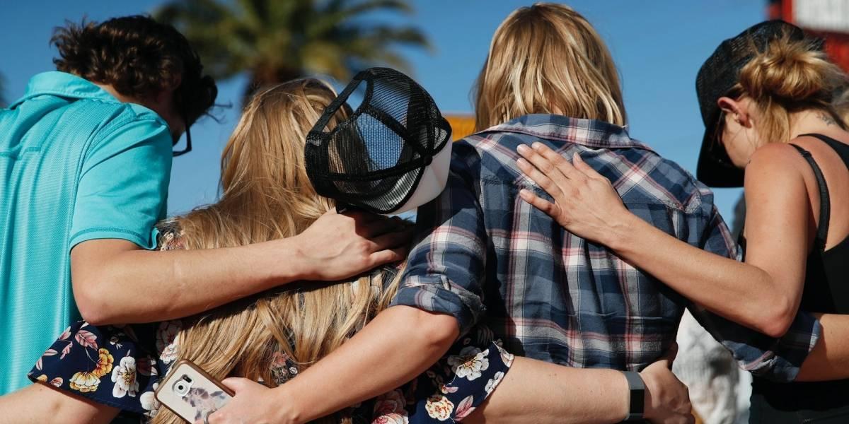Recuerdan a las víctimas a un año del tiroteo en Las Vegas