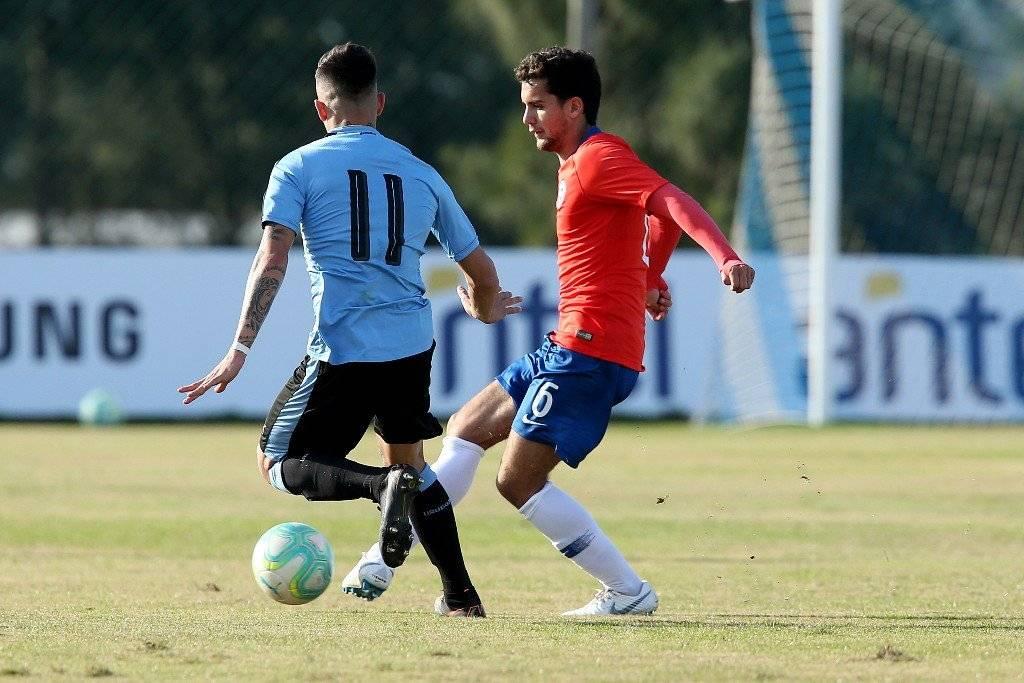 Ignacio Saavedra está llamado a destacar en la Sub 20 en el Sudamericano Chile 2019 / Foto: Carlos Parra-ANFP