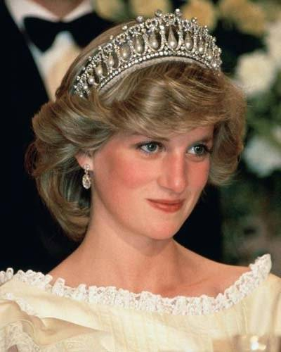 Tiara Diana de Gales