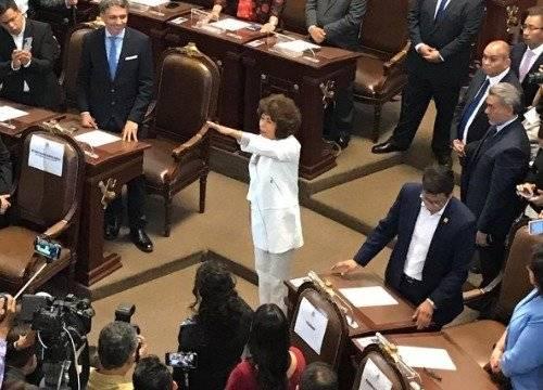 Patricia Aceves por Tlalpan Foto: @Congreso_CdMex