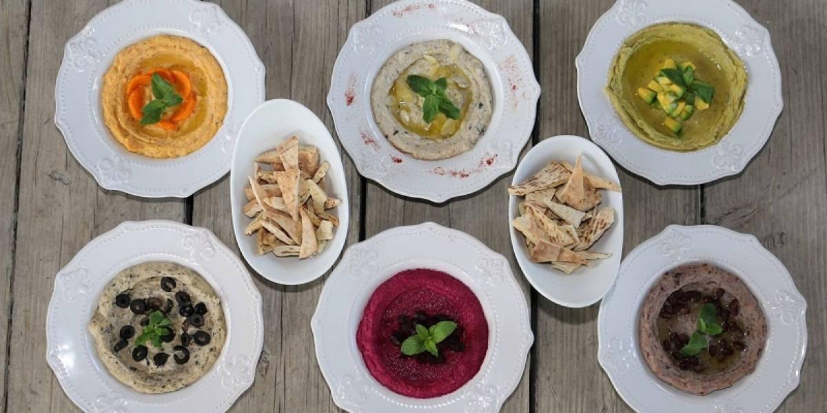 Kibbeh presenta innovadoras opciones de hummus