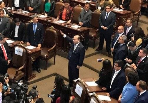 Julio César Moreno por Venustiano Carranza Foto: @Congreso_CdMex