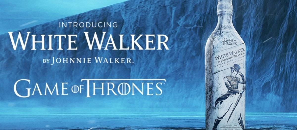 """El whisky está inspirado en los """"White Walkers"""" Cortesía"""