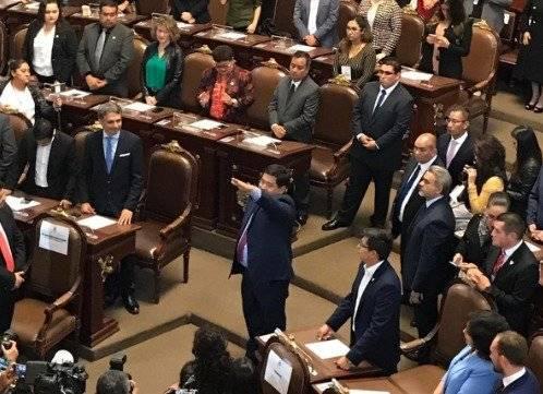 José Carlos Acosta por Xochimilco Foto: @Congreso_CdMex