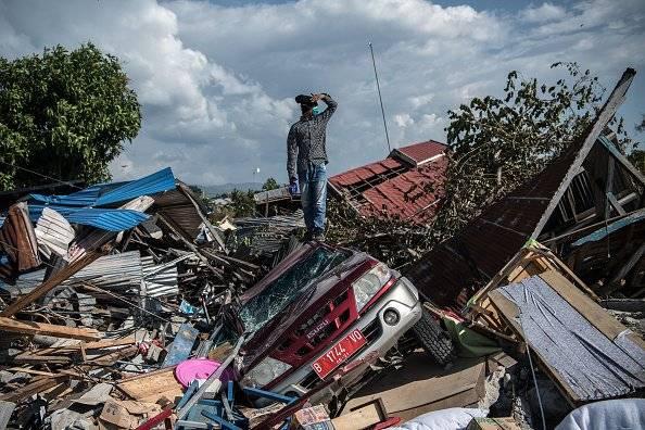 Sube a 1.234 la cifra de muertos por el terremoto y el tsunami en Indonesia Getty Images