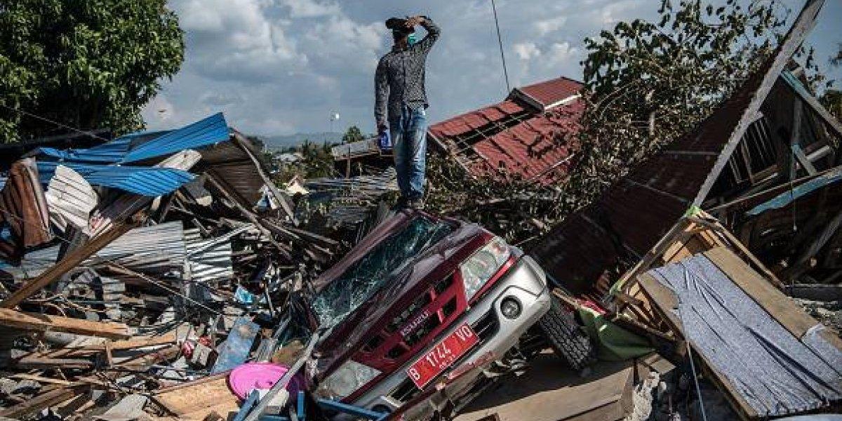 Sube a 1.234 la cifra de muertos por el terremoto y el tsunami en Indonesia
