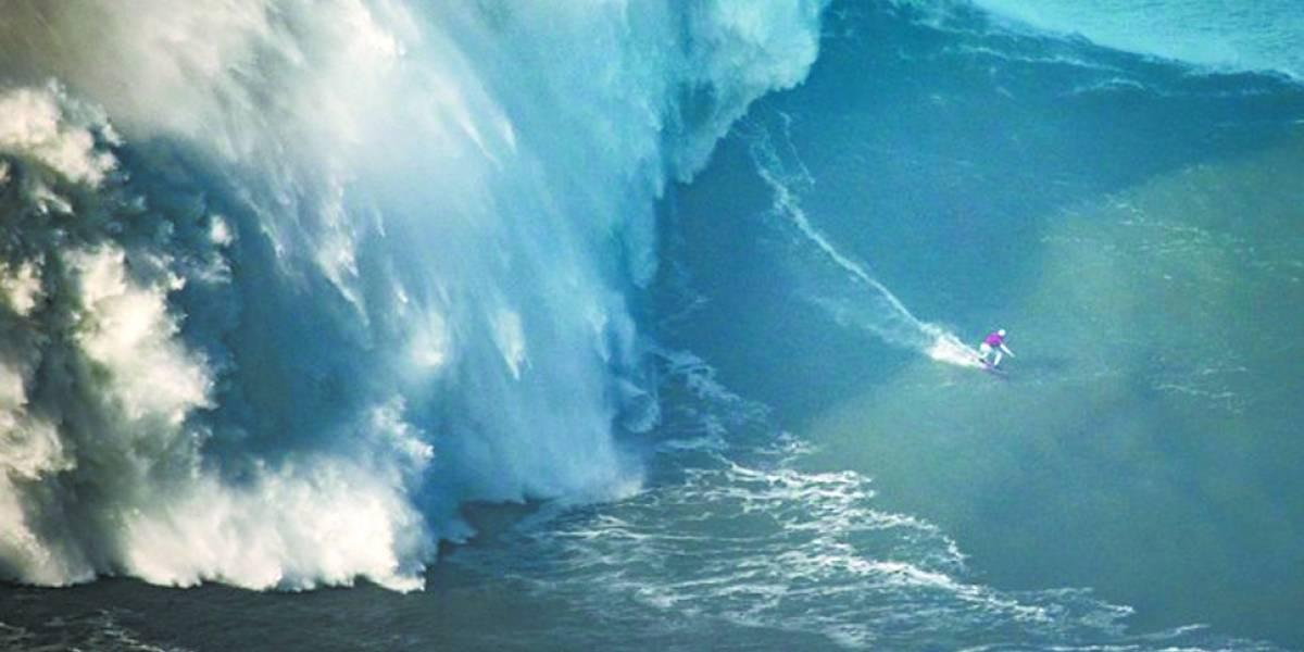 Surfista Maya Gabeira entra para o Guinness Book