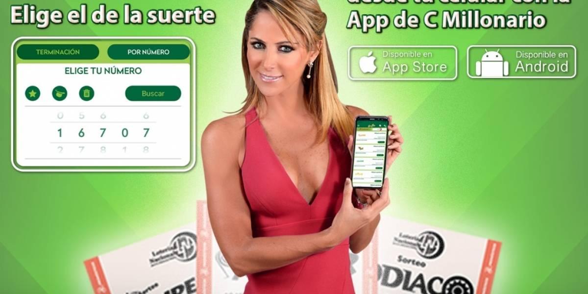 'Adiós a los cachitos', compra billetes de la Lotería con esta app