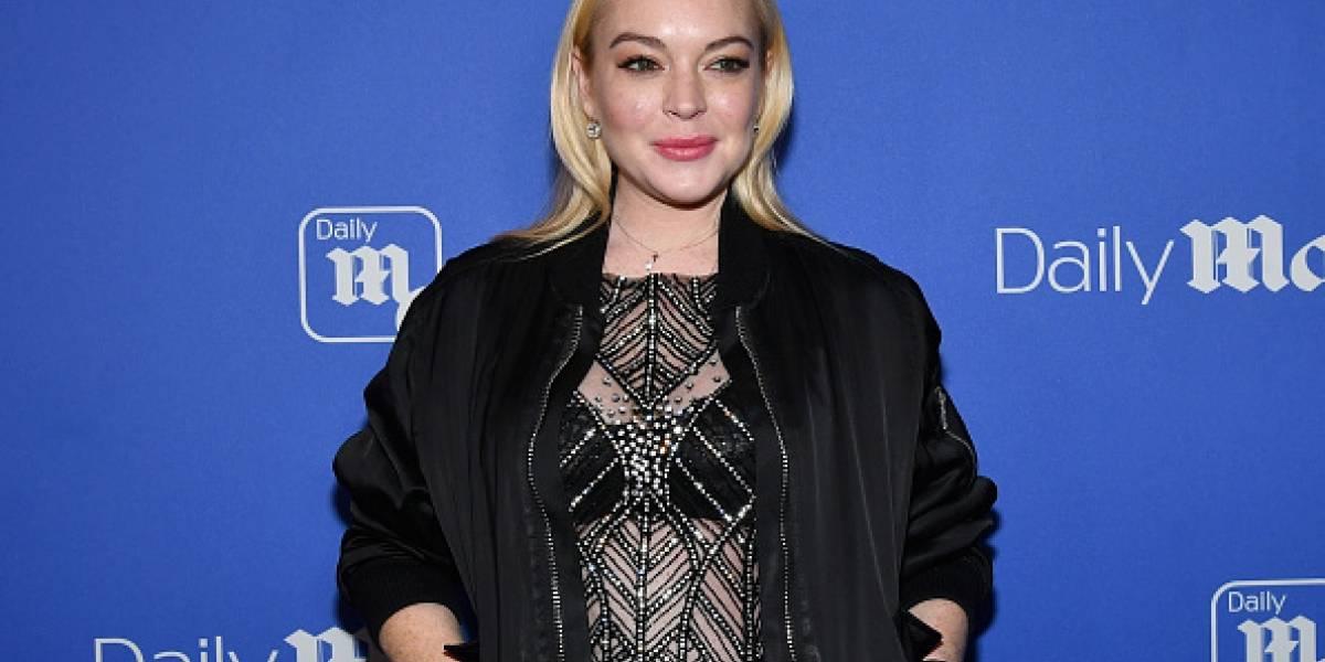 Lindsay Lohan protagoniza polémico vídeo en el que persigue a refugiados