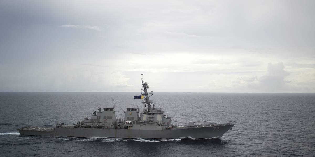 """Máxima tensión en nueva zona de conflicto: destructor chino tuvo un encuentro """"inseguro"""" con buque estadounidense"""