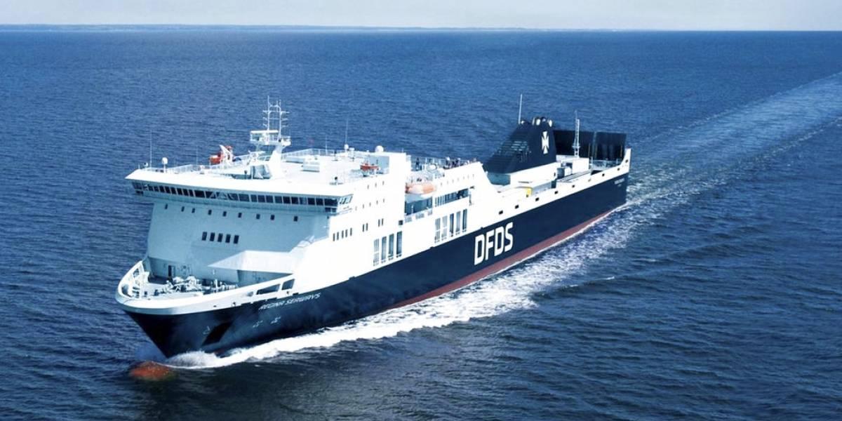 Casi 300 pasajeros varados por falla de ferry en Mar Báltico
