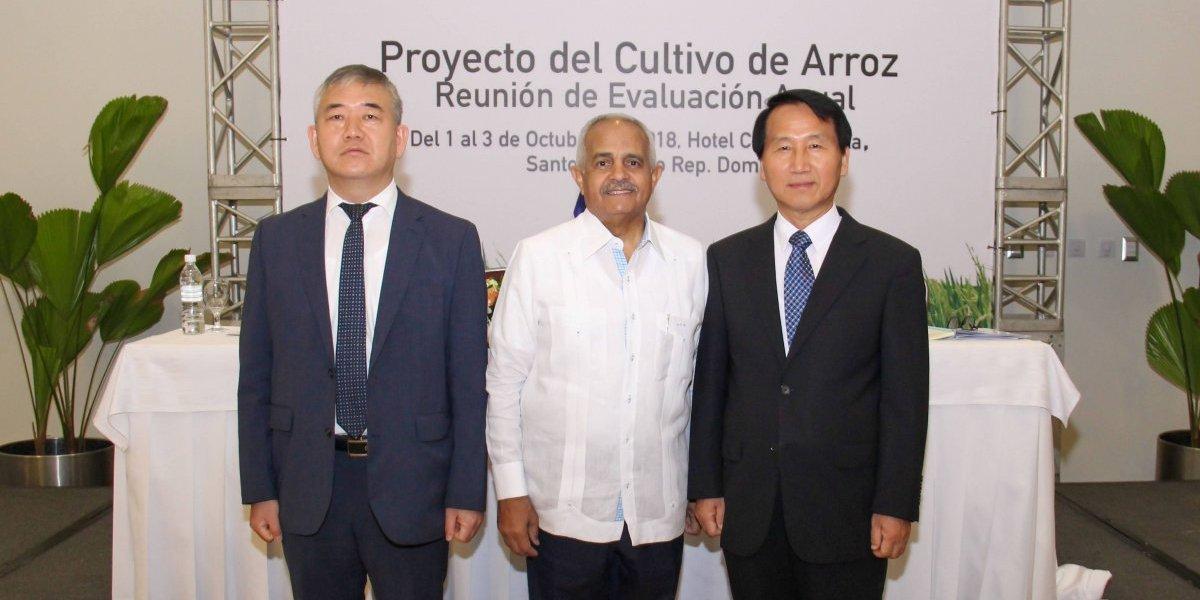RD: sede de la Reunión de Evaluación Anual del Proyecto del Cultivo de Arroz