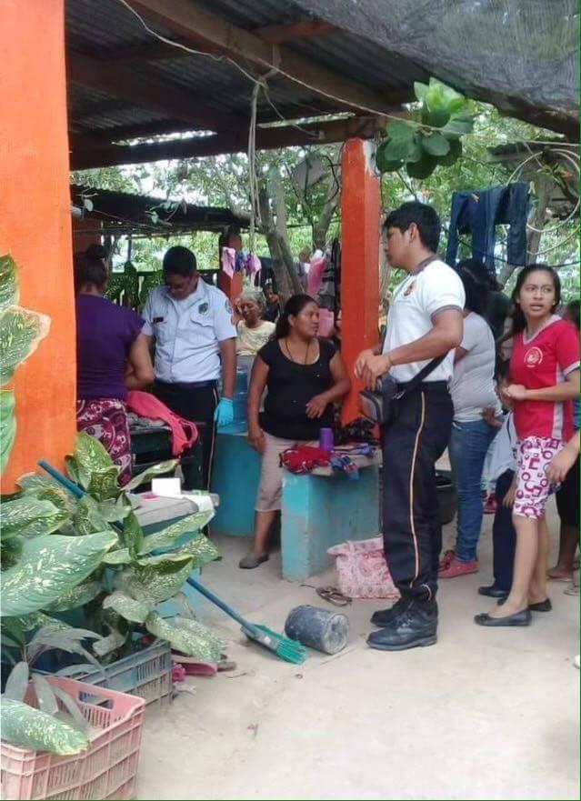 La muerte de la menor indignó a los vecinos de la aldea La Fragua, en Zacapa. Foto: Pampichi News