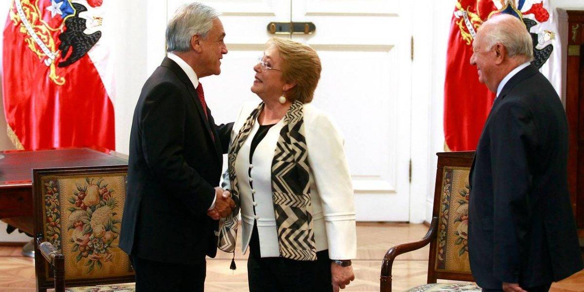 Piñera agradece a Bachelet por sus gestiones durante la defensa de Chile en La Haya por demanda marítima de Bolivia