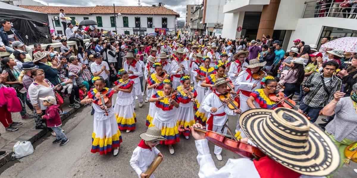 38 bandas se dieron cita en el Concurso Nacional de Bandas, en Paipa