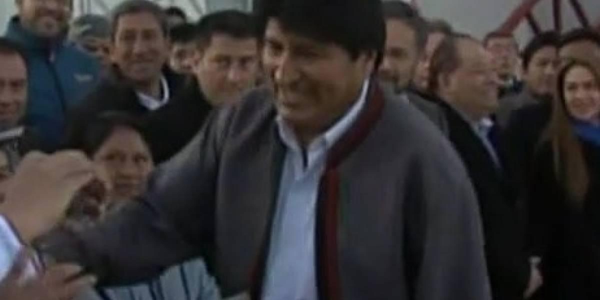 Más callado que nunca: así fue el silencioso regreso de Evo Morales a Bolivia tras aplastante derrota en La Haya
