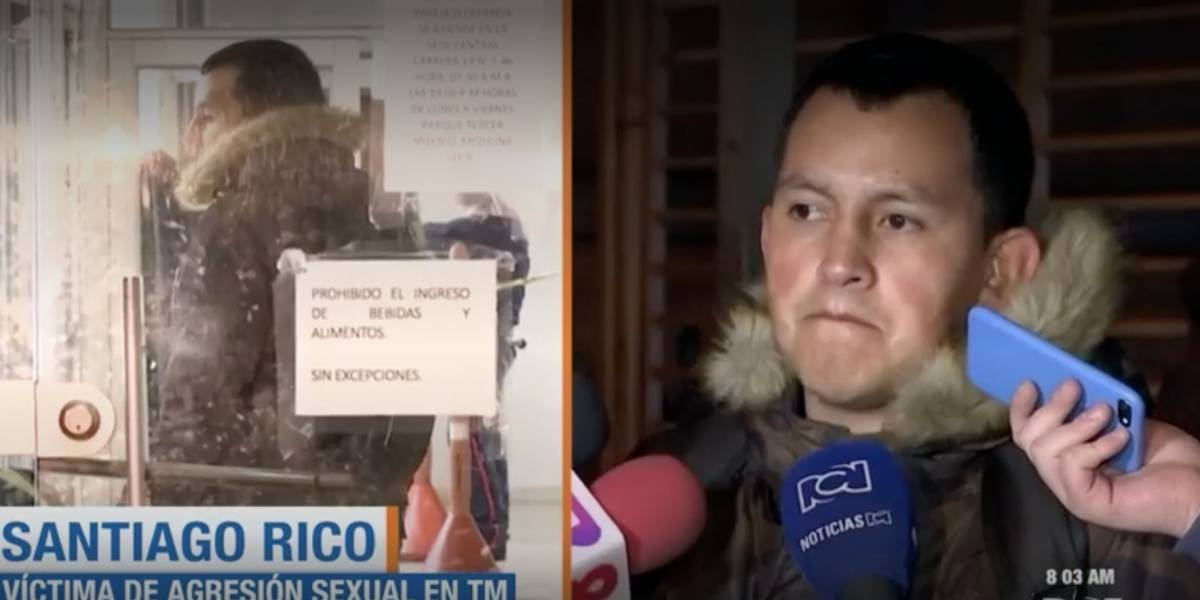 Hombre denuncia caso de acoso sexual en TransMilenio