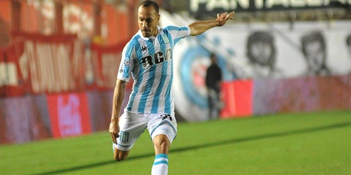 """El buen momento de Marcelo Díaz en Racing tocó hasta a su """"inventor"""" Víctor Hugo Castañeda"""
