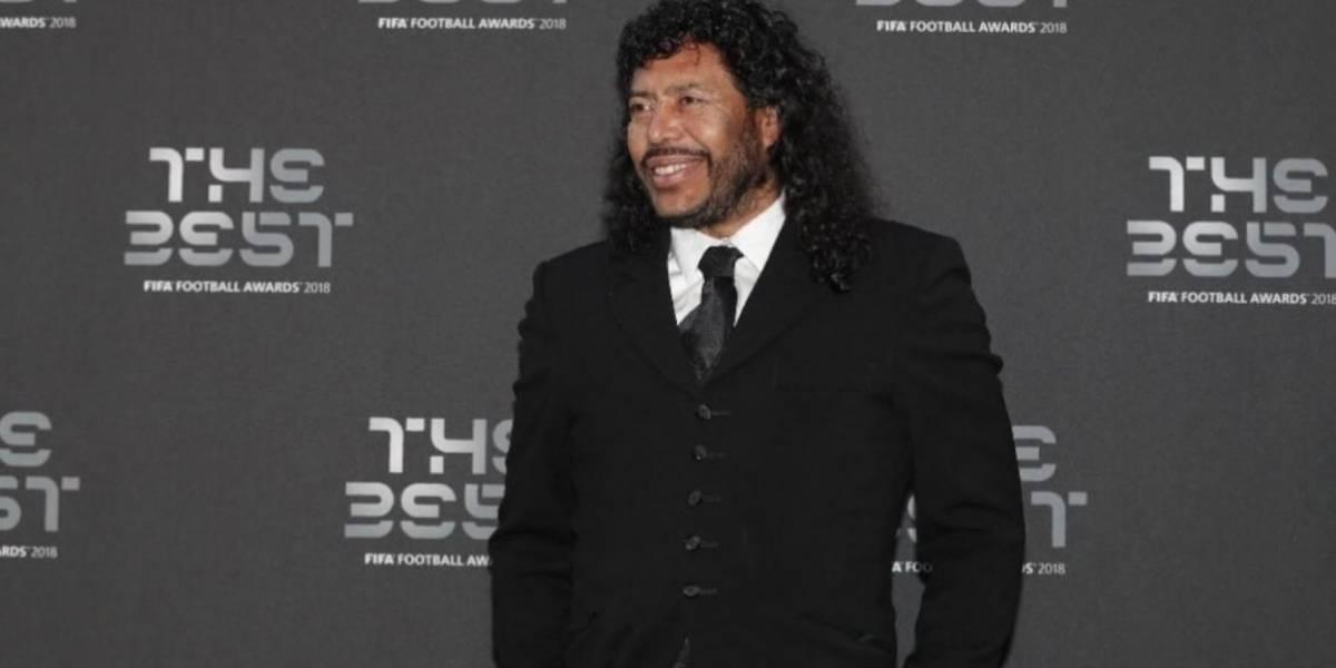¡No aguantó más! Higuita les respondió a quienes criticaron su 'pinta' en The Best