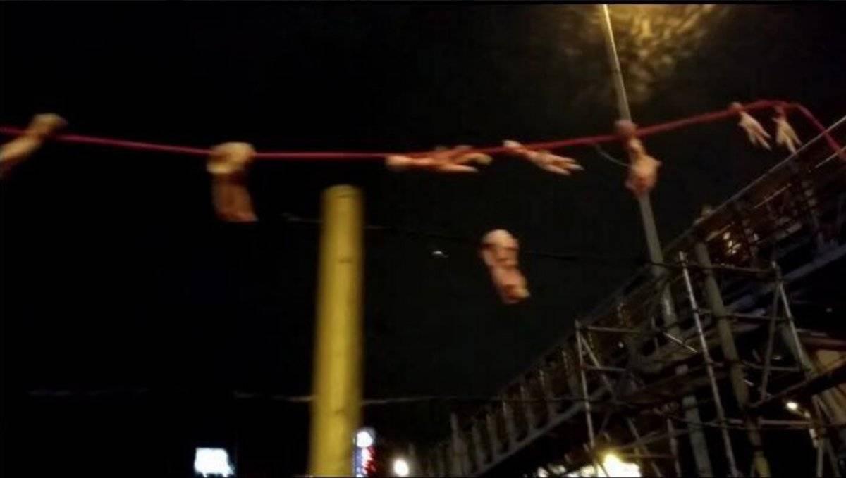 Barras bravas de Santa Fe cargaron contra hinchas de Millonarios