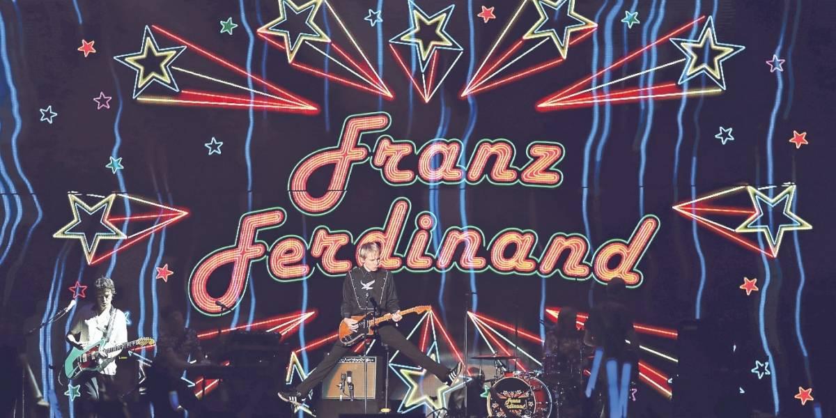 """Franz Ferdinand y el Festival de Viña: """"Fue algo verdaderamente surreal"""""""