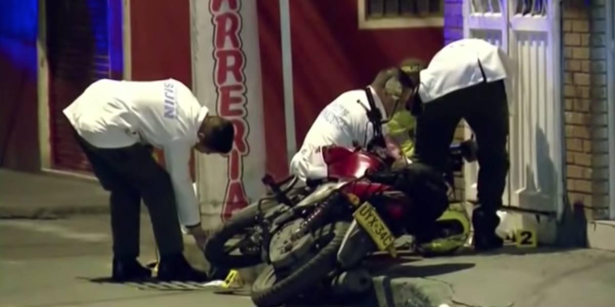 Dos ladrones fueron asesinados por un escolta en Bogotá