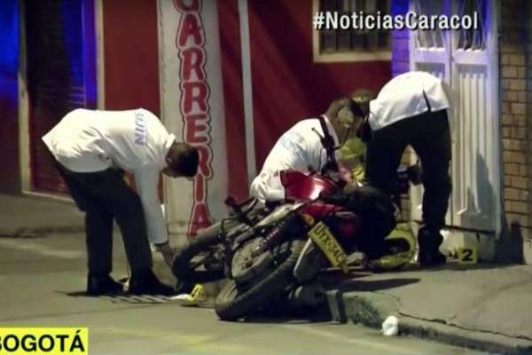 Delincuentes que iban a robar un camión fueron asesinados por un escolta en Bogotá