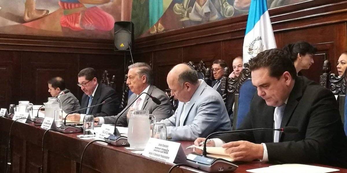 CICIG ratifica antejuicio contra el Presidente ante comisión pesquisidora