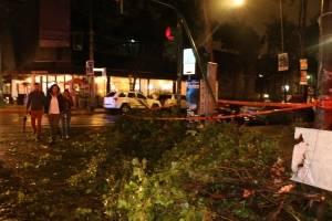 """Tormenta tropical """"Rosa"""" tocó tierra; Morelos y Colima afectados"""