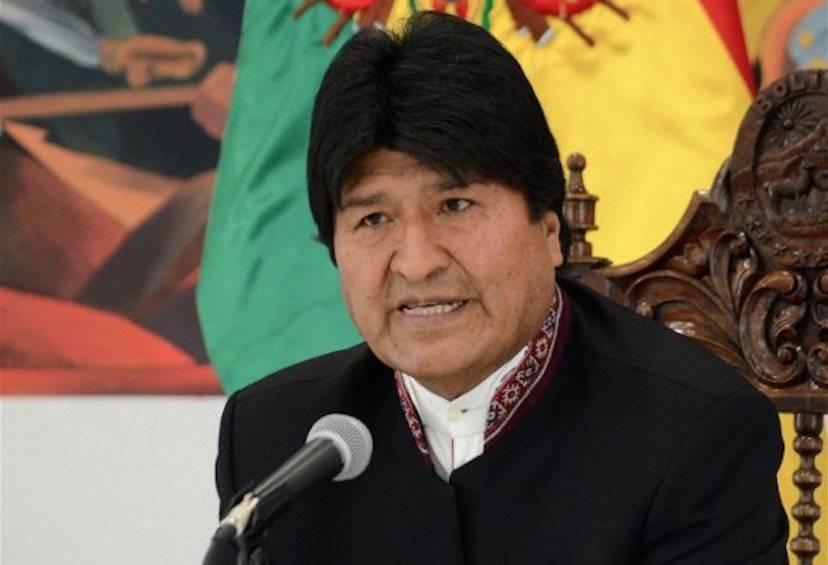 Evo Morales en Bolivia