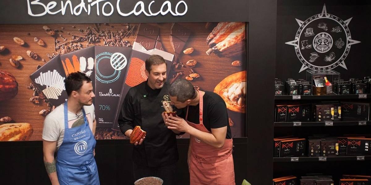 MasterChef Profissionais: cozinheiros disputam prova em fábrica de chocolate