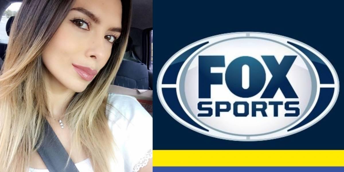 ¡La nueva y hermosa presentadora que llegó a Fox Sports Colombia!