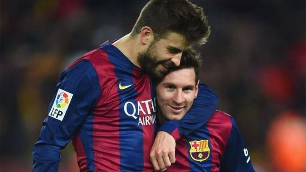 Escándalo en España: La razón por la que Messi y Piqué estarían peleados Internet