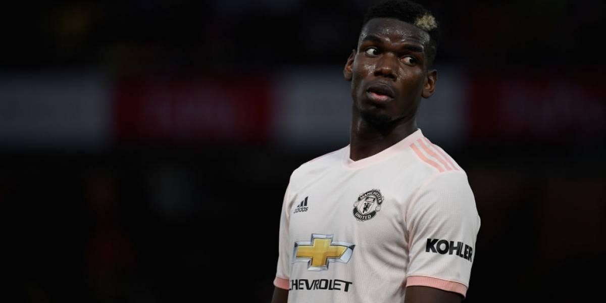 """La crisis sin fin del Manchester United toca duro al """"inservible"""" Paul Pogba"""