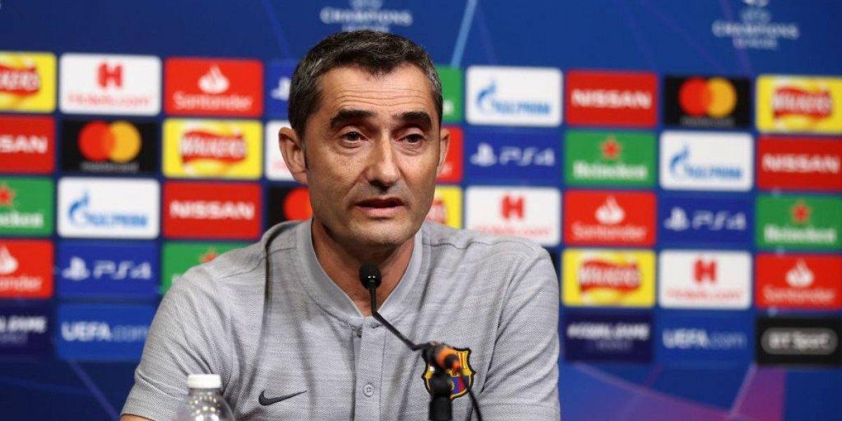 """Valverde no se preocupa por el mal momento del Barça: """"Nuestra intención no cambia, es la misma siempre"""""""