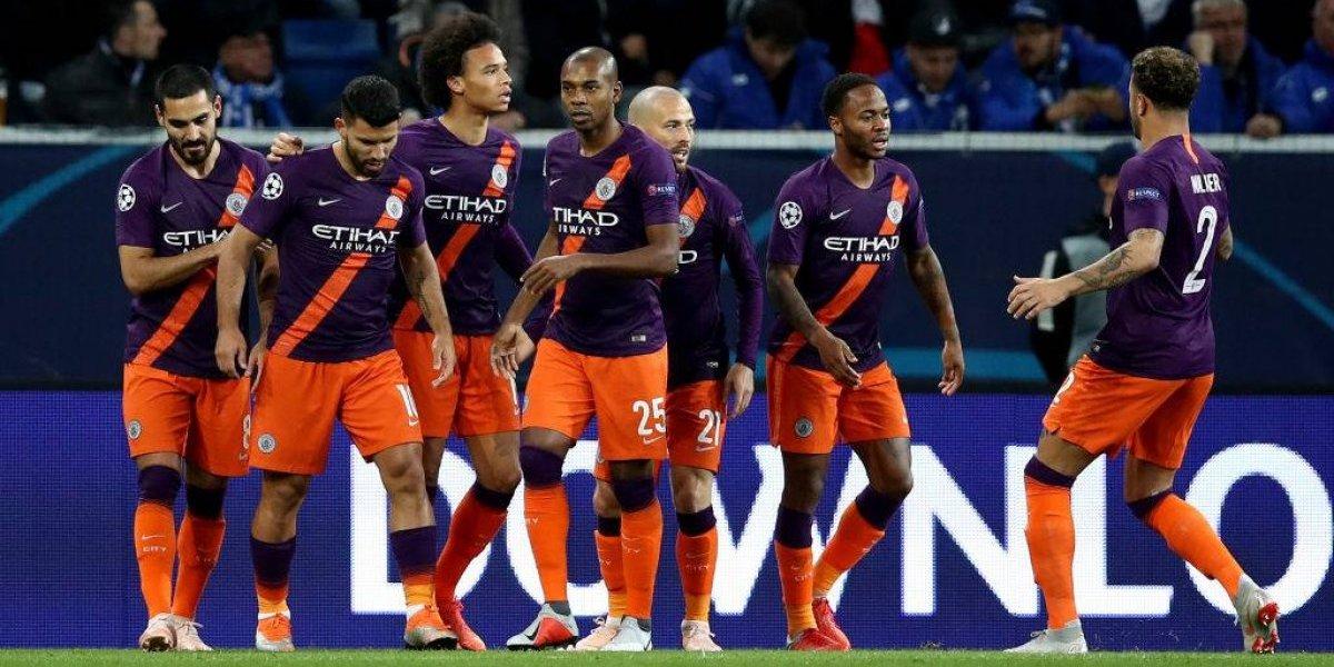 Manchester City sufrió para decir que también puede ganar en la Champions League