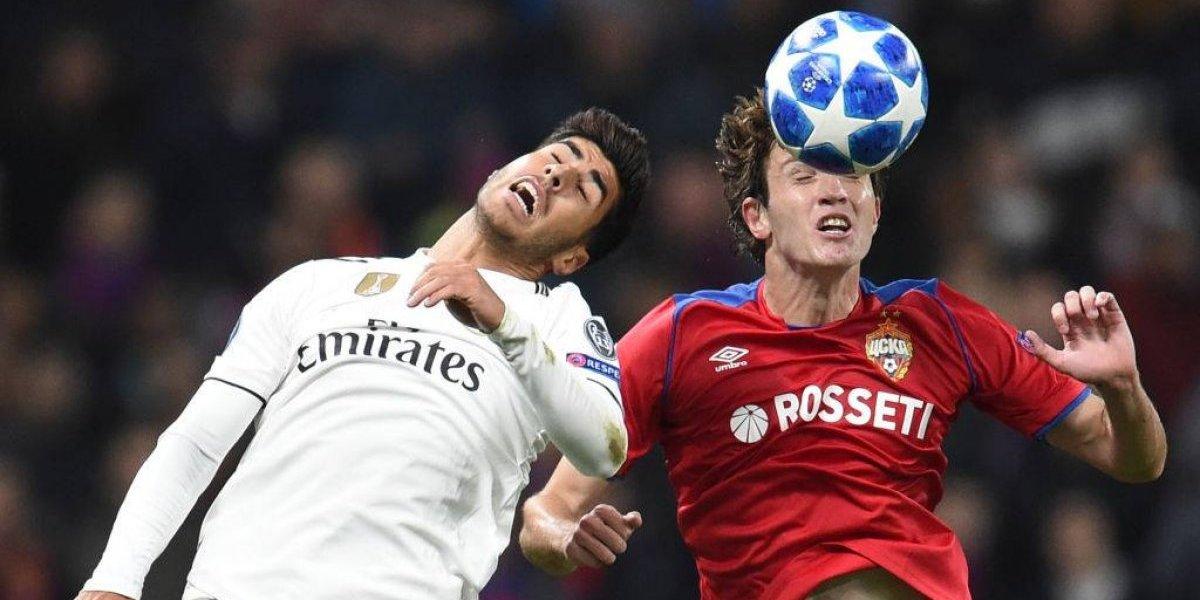 Real Madrid sigue sufriendo sin Cristiano ni Zidane y cae ante CSKA en la Champions
