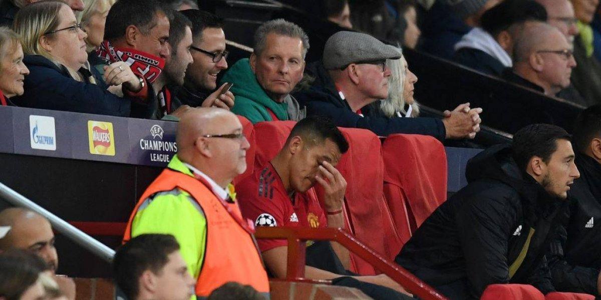 """En Inglaterra destrozan otra vez a Alexis por su nivel en la Champions: """"Parece que el United contrató a su hermano"""""""
