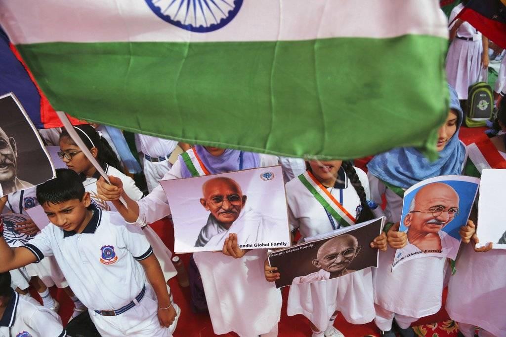 Gandhi nunca aceptó que la violencia pudiera ser un medio para alcanzar la paz. Foto: AP
