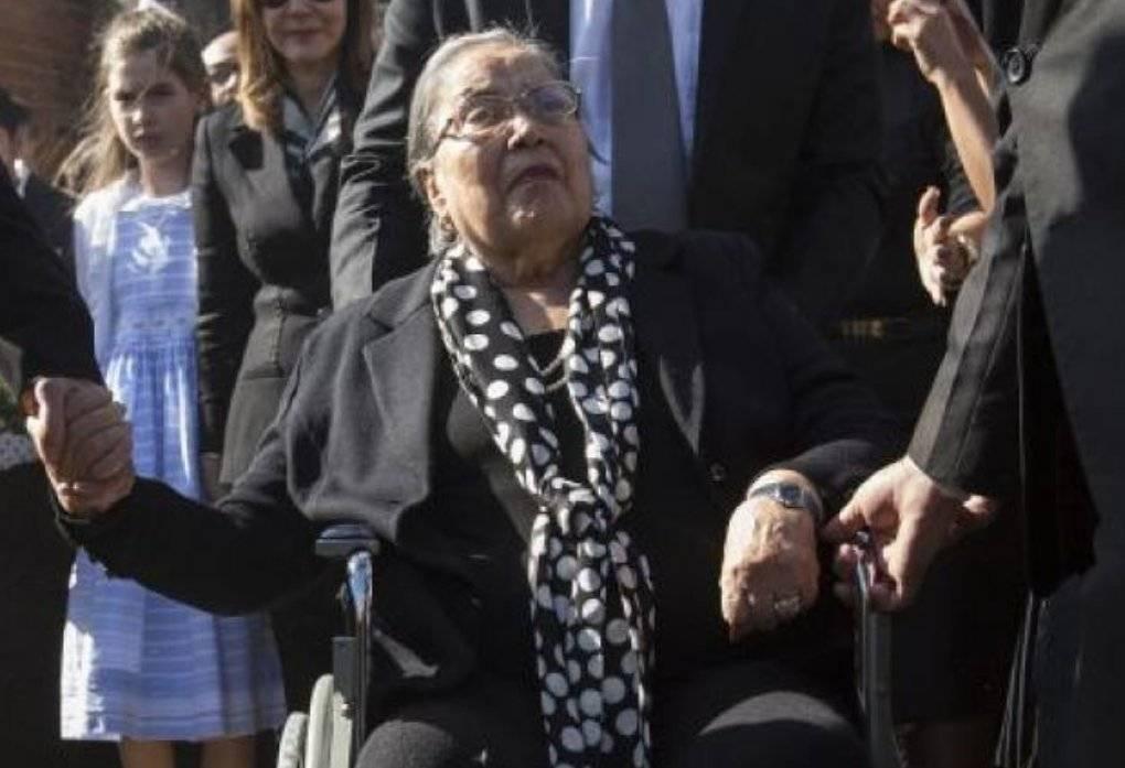 Muere María Sosa de Ríos, esposa del fallecido José Ríos Montt.