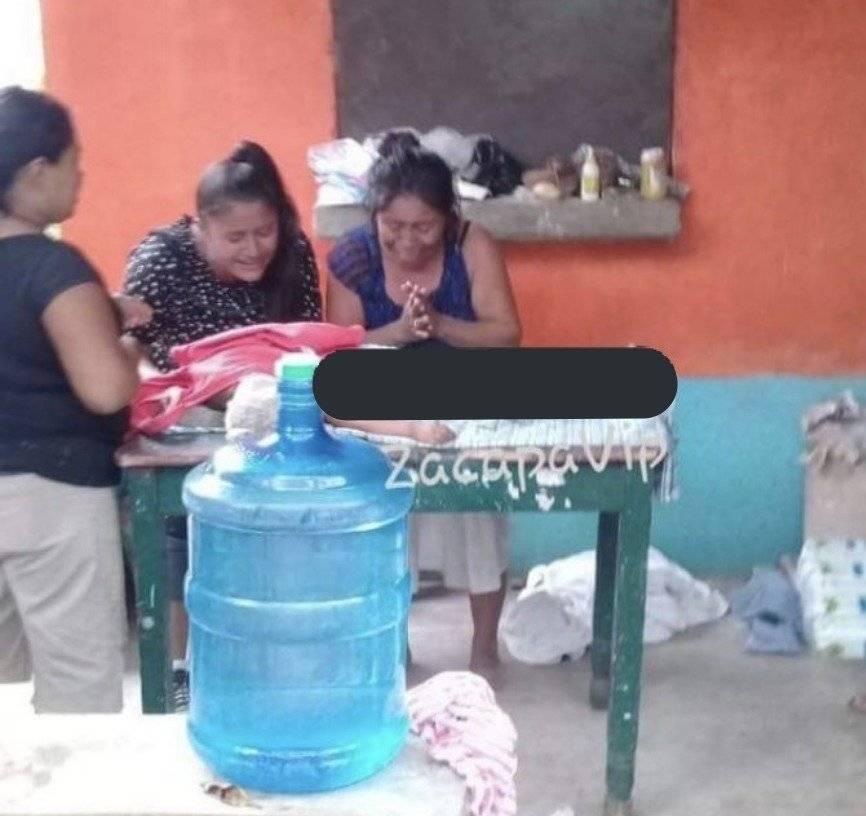 Niña atropellada en Zacapa