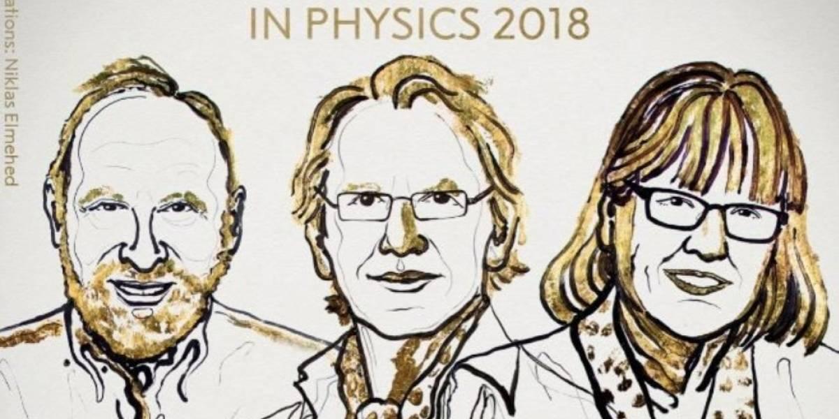 Físicos que revolucionan los láser son galardonados con el Premio Nobel