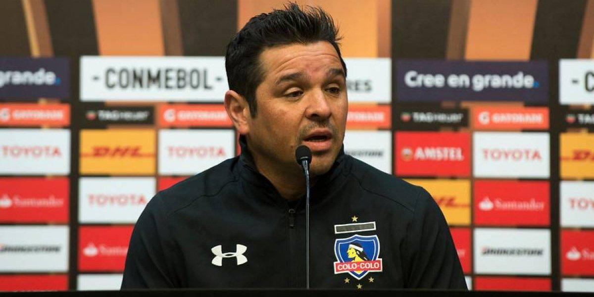 """Tito Tapia está """"firme"""" ante las críticas en Colo Colo: """"Tengo credibilidad en mi trabajo"""""""