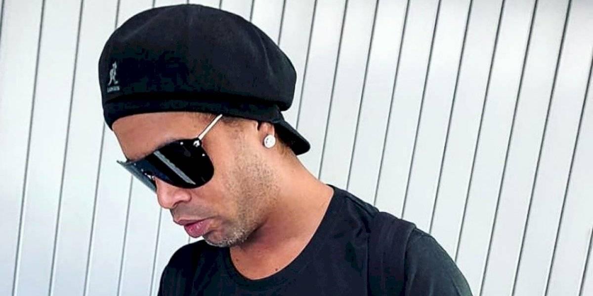 Ronaldinho pagará 1.5 mdd para recuperar su pasaporte