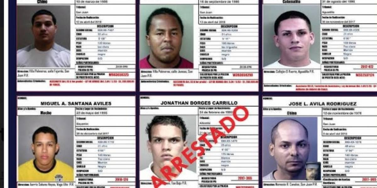 Publican foto de los criminales más buscados en la isla