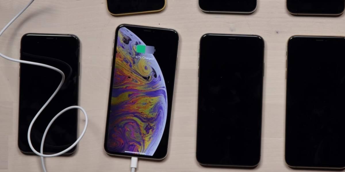 Se reportan casos de iPhones Xs y Xs Max con problemas para cargarse