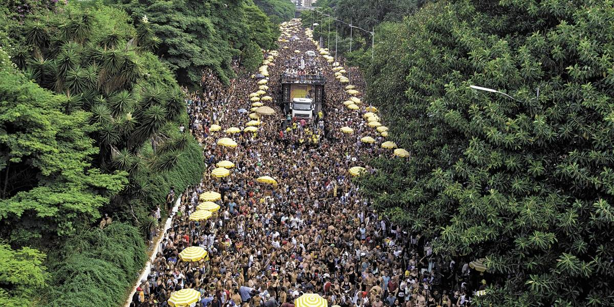 Carnaval de rua de SP troca a avenida 23 de Maio pela avenida Tiradentes