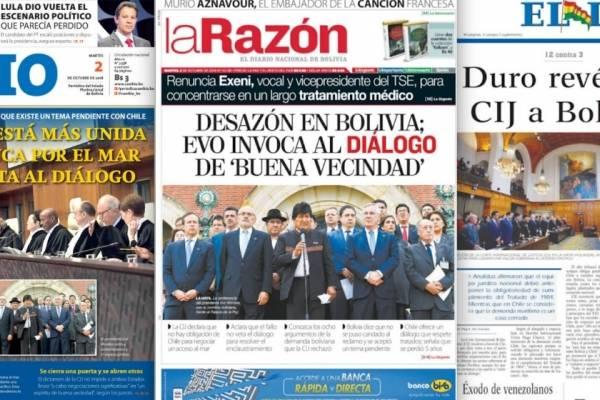 portadas medios bolivianos