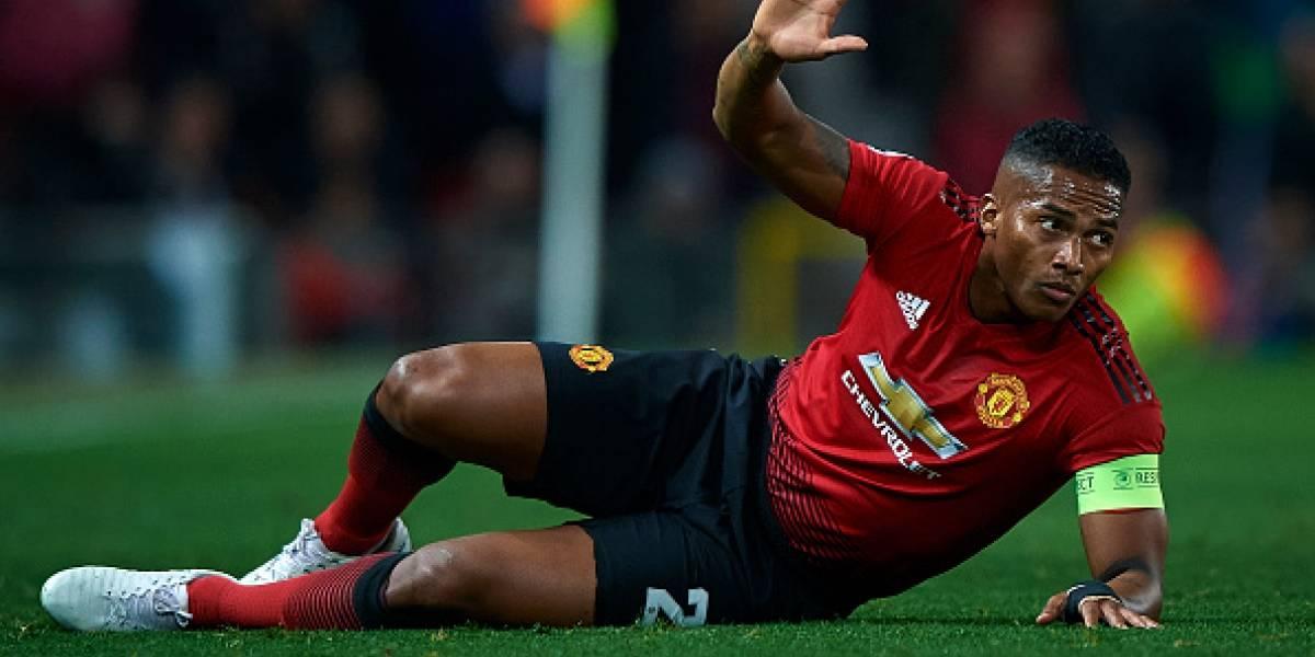 Antonio Valencia con futuro incierto en el Manchester United