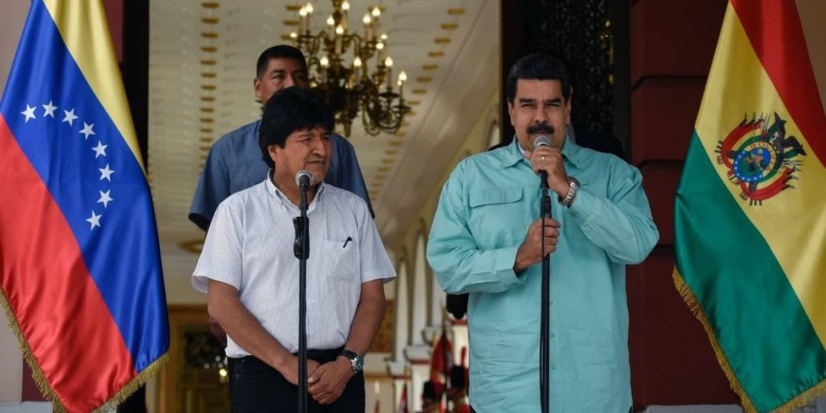 """Venezuela declara """"hijo ilustre"""" a Evo Morales y le exige a Chile una salida al mar para Bolivia"""